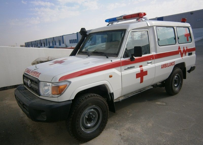 Used Toyota Landcruiser 4X4 Diesel Ambulance