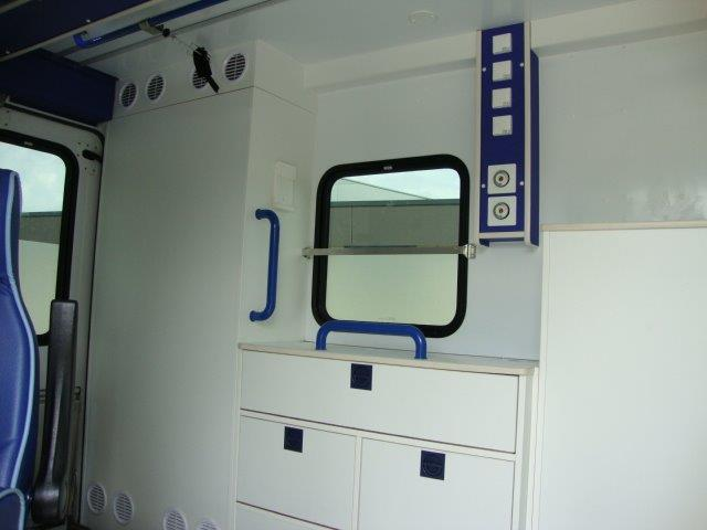 Volkswagen T5 Container Ambulance