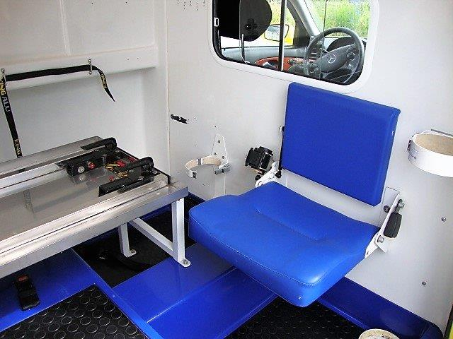 Mercedes Benz Ambulance E 280 CDI, Build 2009